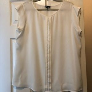 The Limited Cream Dress Blouse